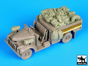 1/72 British Chevrolet 30 cwt accessories set