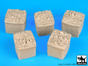 1/35 Sandbag Armored wall # 1