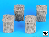 1/35 Sandbag Armored wall # 2