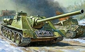 SU-100 Soviet Self-Propelled Gun
