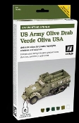 AFV US Army Olive Drab Paint Set