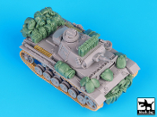 1/72 German Pz, Kfw III Ausf. N DAK accessories