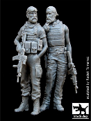 1/35 U.S. Special Forces in Afghanistan Set
