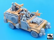 1/35 Defender Wolf accessories set with crew