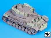 1/35 Pz. Kpfw IV Ausf J accessories set