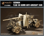 1/18 German Flak 36 88mm Anti Aircraft Gun