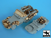 1/72 M3 Half Track + Amphibian vehicle accessories set
