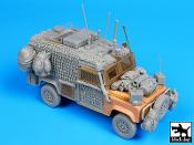 1/35 Land Rover Defender Snatch Barracuda - Afghanistan big set