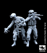 1/35 US Soldiers team special group /Recon Scout XT Robot/