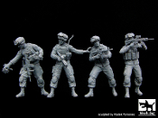 1/35 US Soldiers special group team big set Recon Scout XT Robot