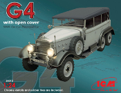 G4 w/Open Cover WWII German Car
