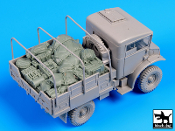 1/35 British 15 CWT truck accessories set