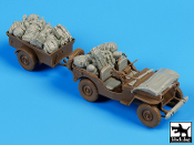 1/35 US Jeep Airborne before drop accessories set