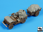 1/35 US Jeep Airborne after drop accessories set