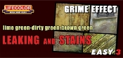 Green Leaking & Stains Grime Effect Acrylic Set (3 22ml Bottles)