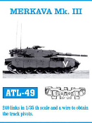 1/35 Merkava Mk III Track Set (240 Links)