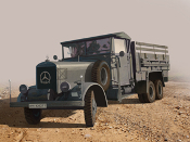 Type LG3000 WWII German Army Truck
