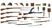 WWI Russian Infantry Weapons & Equipment