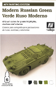 AFV Painting System - Modern Russian Green