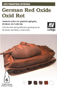 AFV Painting System - German Red Oxide