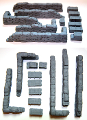 1/35 Configurable Sandbag Walls & Crates