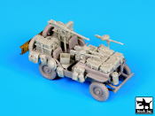 1/72 British SAS Jeep North Africa 1942