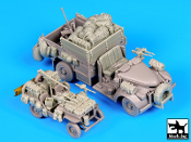 1/72 British SAS Jeep & Chevrolet #2 North Africa 1942