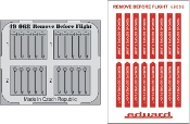 1/48 Aircraft- Remove Before Flight Fabric-Type for EDU (Painted)