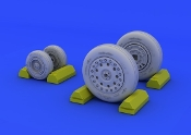 1/48 Aircraft- F4B/N Wheels for ACY (Resin)