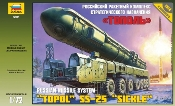 Topol SS25 Sickle Russian Intercontinental Ballistic Missile Launcher