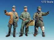 1/72 WWII German Officers