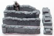 "Configurable Sandbag Walls & Crates ""Check Point"""