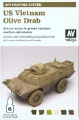 Painting System - US Vietnam Olive Drab