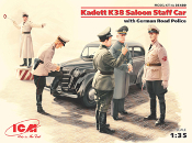 K38 Saloon Staff Car with Road Police