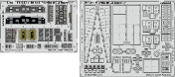 1/48 Aircraft- Merlin HC3 Interior for ARX (Painted Self Adhesive)