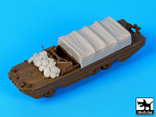 1/72 DUKW canvas accessories set