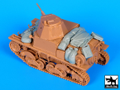 1/35 Carro Armato L6 accessories set