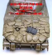 1/35 Sandbag Fronts for M4 (Early Production) Sherman