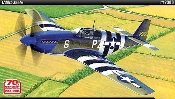 1/48 - P51B Mustang Blue Nose USAAF Fighter Normandy Invasion 70th Anniversary