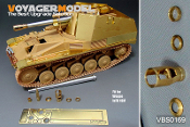 1/35 WWII German Wespe 105mm L/28 Gun Barrel (GP)