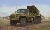 Russian BM-21 Grad Late Version
