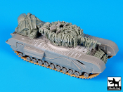 1/72 Churchill Mk IV accessories set