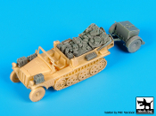 1/72 Sd.Kfz. 10 with Sd.Ah. 32 accessories set