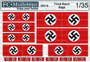 1/35 Third reich flags WWII