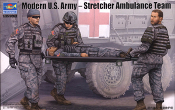 Modern US Army Stretcher Ambulance Team