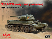 T-34/76 Early 1943 WWII