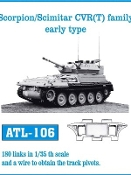 1/35 Scorpion/ Scimitar CVR(T) Early Track Set (180 Links)