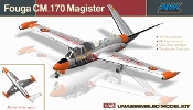 Fouga CM.170 Magister - French Two-seat Jet Trainer