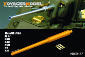 1/35 WWII US 37mm M6 L/56.6 Gun Barrel (GP)