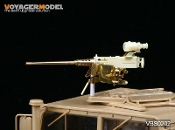 1/35 Modern US Browning M2HB GP Machine Gun & Optical Collimator Set